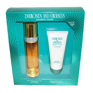 Elizabeth Taylor Diamonds and Emeralds Women's Fragrance Set