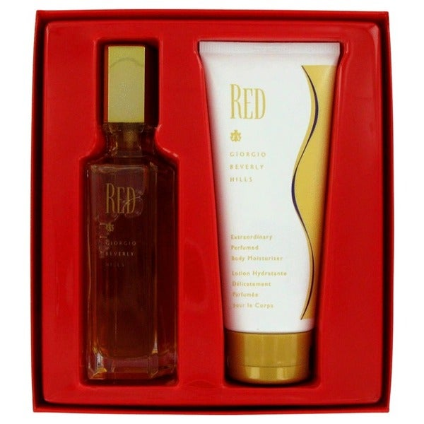 8c397c4ff2 Shop Giorgio Beverly Hills Red 2-piece Women s Fragrance Set - Free  Shipping On Orders Over  45 - Overstock - 3859309