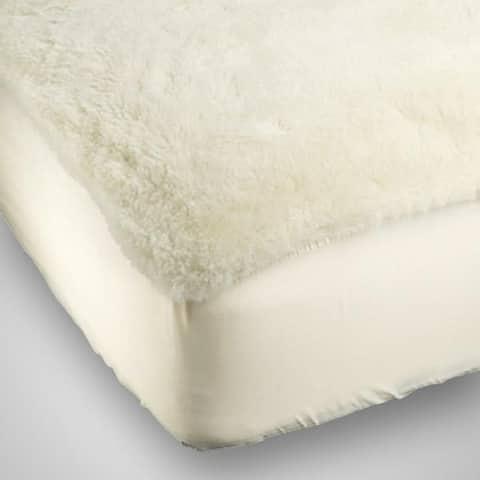 Denali Supreme Fitted California King Size Wool Mattress Pad