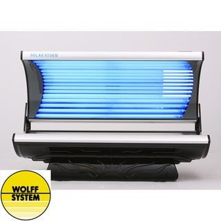 Wolff Systems Solar Storm 24-bulb Tanning Bed with MP3 Audio System