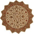 Hand-tufted Camelot Wool Area Rug (8' Star)