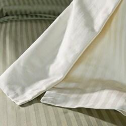 Superior Cotton 1500 Thread Count Striped 3-piece Duvet Cover Set