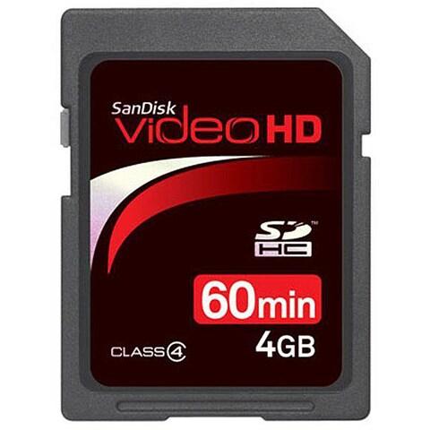 SanDisk 4GB Ultra II Video Memory Card (Refurbished)