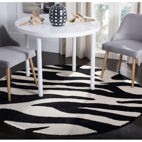 Safavieh Handmade Soho Frantzeska Zebra N.Z. Wool Rug