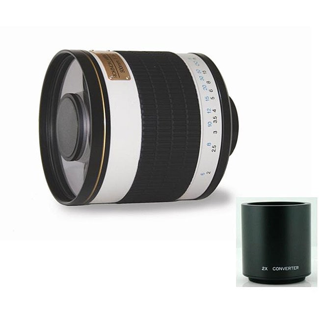 Rokinon 500mm/1000mm F6.3 Mirror Lens for Canon