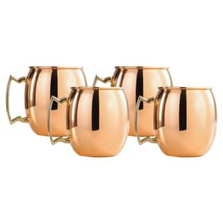 Copper 16-oz. Moscow Mule Mugs with Nickel Lining and Brass Handles - Set of 4|https://ak1.ostkcdn.com/images/products/3864752/P11915379.jpg?impolicy=medium
