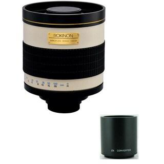 Rokinon 800mm/ 1600mm F8.0 Nikon Mirror Lens