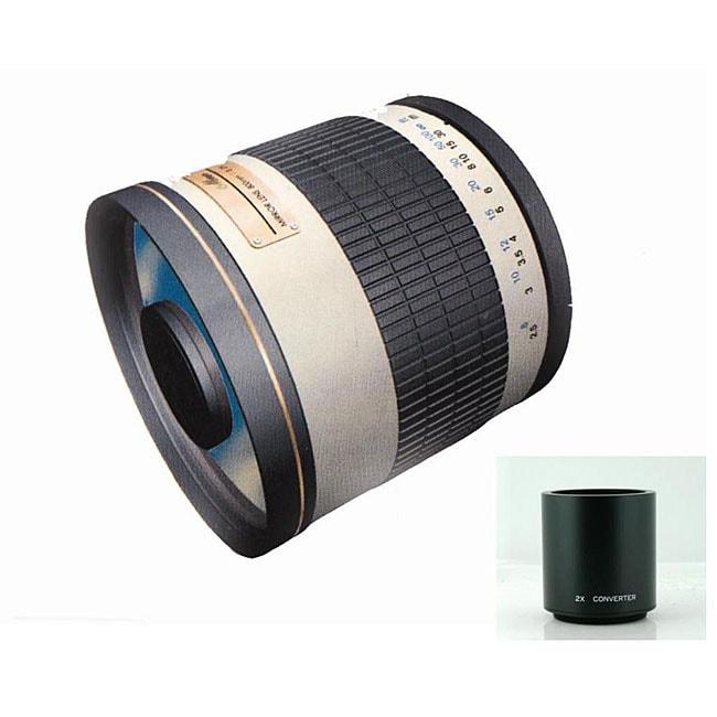 Rokinon 800mm/ 1600mm F8.0 Pentax Mirror Lens