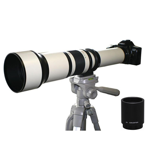 Rokinon 650-2600mm Canon Telephoto Zoom Lens
