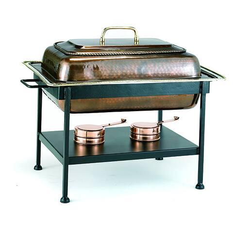 Old Dutch Antique Copper 8 qt. Chafing Dish