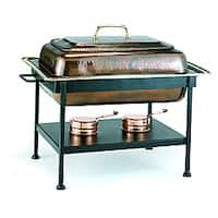 Old Dutch Antique Copper 8 qt. Chafing Dish