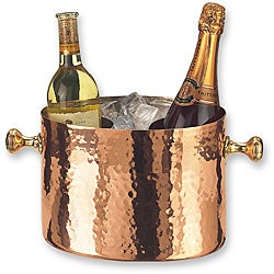 Copper Double Bottle Chiller with Aluminum Insert