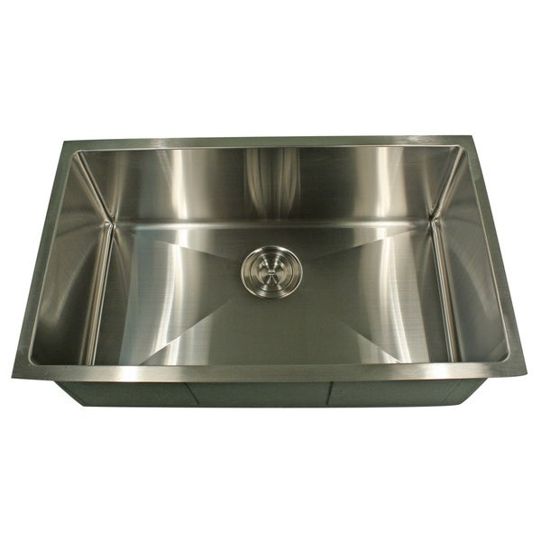 Shop Professional Style Small Radius Rectangular Kitchen Sink - Free ...