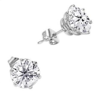 NEXTE Jewelry Goldtone or Silvertone Martini Set Stud Earrings