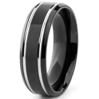 mens wedding bands groom wedding rings shop the best deals for jun 2017 - Black Wedding Rings For Him