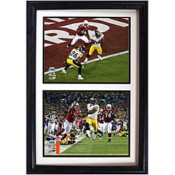 Steelers '100-yard Touchdown' 12x18 Framed Double Prints - Thumbnail 0
