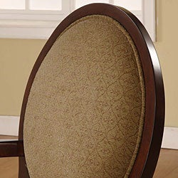 Oval-back Fern Arm Chair - Thumbnail 1