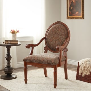 Oval Tip Midnight Arm Chair
