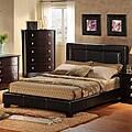 Tuscany Villa Upholstered Queen Platform Bed