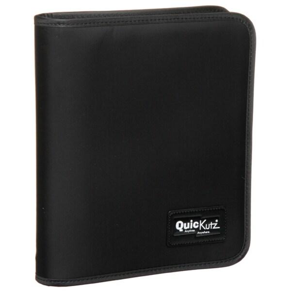 Shop Quickutz Zip-a-Round Black Binder