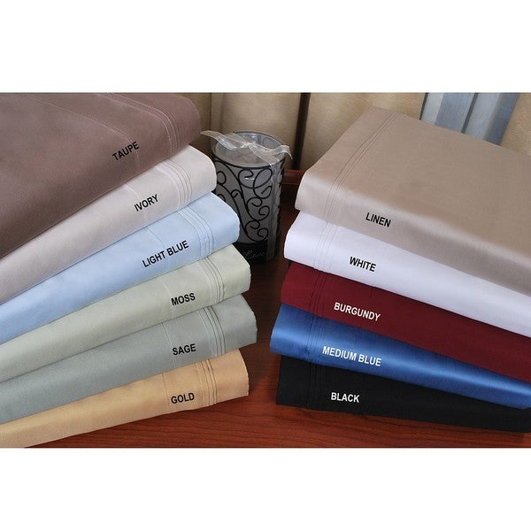 Superior Cotton 650 Thread Count Queen-size Waterbed Sheet Set