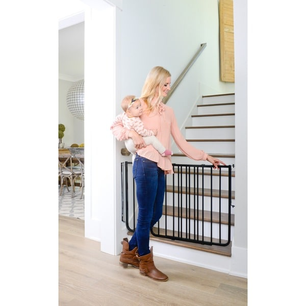 Stairway Special Child Gate   Free Shipping Today   Overstock.com   11920376