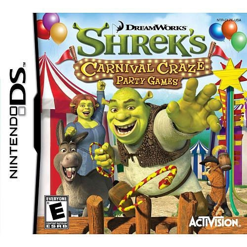 NinDS - Shreks Carnival Craze - By Activision Inc - Thumbnail 0