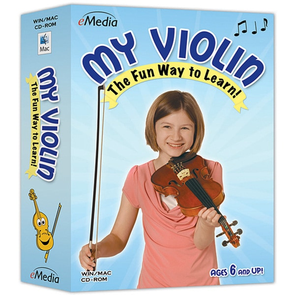 Shop Emedia My Violin Instructional Software Free Shipping On