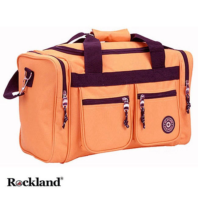 Rockland Bel-Air Orange 19-inch Carry-On Tote / Duffel Bag