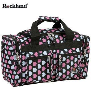 Rockland Bel-Air Multi Heart 19-inch Carry-On Tote / Duffel Bag