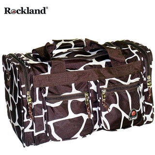 09a7ebd51d0c  li Complement your Rockland Luggage collection with this carry-on flight  tote bag. Rockland Deluxe Giraffe 19-inch ...