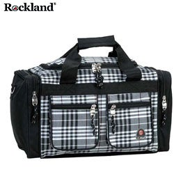 Rockland Bel-Air Black Cross 19-inch Carry-On Tote / Duffel Bag
