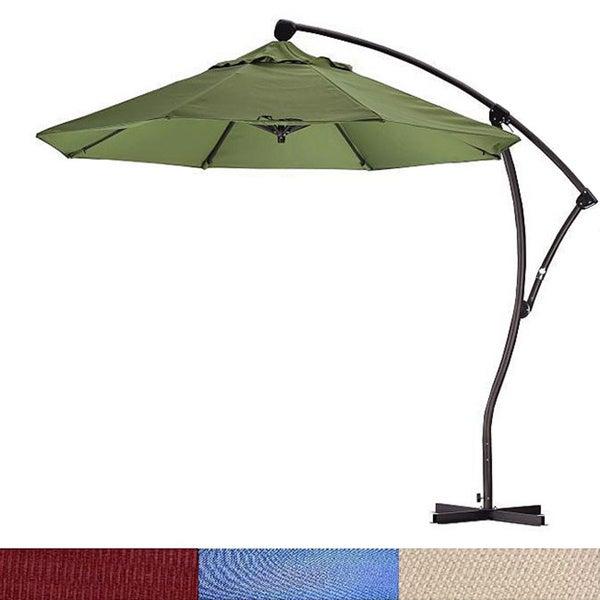 Lauren & Company Cantilever Premium Aluminum 9-foot Umbrella