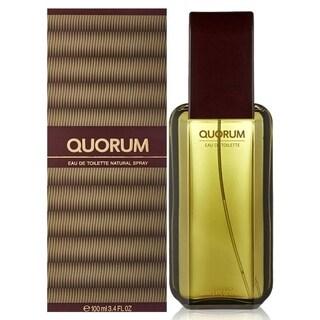Antonio Puig Men's Quorum 3.4-ounce Eau de Toilette Spray