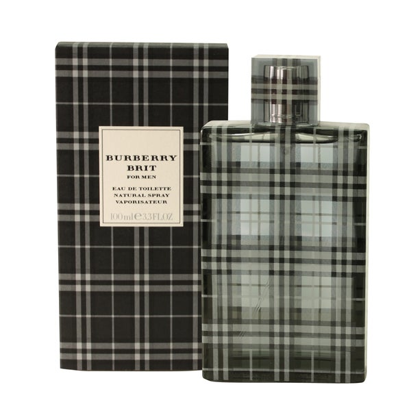 burberry brit eau de parfum spray p75z  Burberry Brit Men's 34-ounce Eau de Toilette Spray