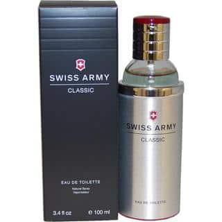 Swiss Army Classic Men's 3.4-ounce Eau de Toilette Spray https://ak1.ostkcdn.com/images/products/3872472/P11921846.jpg?impolicy=medium
