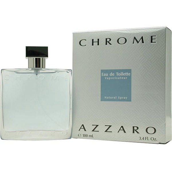 Azzaro Chrome Men's 3.4-ounce Eau de Toilette Spray (Tester)