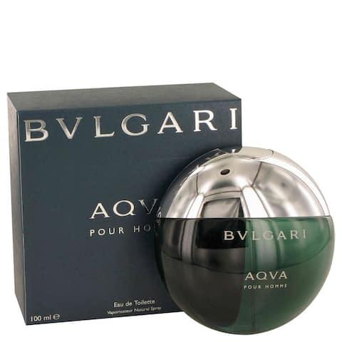 Bvlgari Aqua 3.4-ounce Men's Eau de Toilette Spray