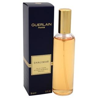 Guerlain Shalimar Women's 3.1-ounce Eau de Toilette Refill