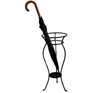 Iron Umbrella Stand - Black