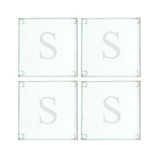 Personalized Glass Coasters (Set of 4) (More options available)
