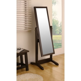 Furniture of America St. Jewel Cheval Adjustable Dress Mirror
