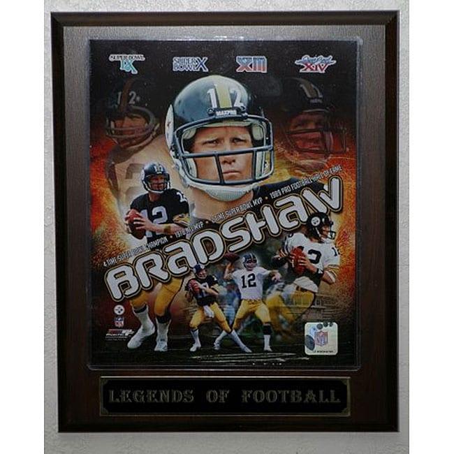 Terry Bradshaw 'Legends of Football' Plaque