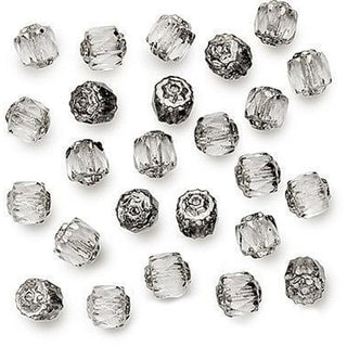 Beadaholique Czech Cathedral Six-millimeter Metallic-end Crystal Beads (50-pack)