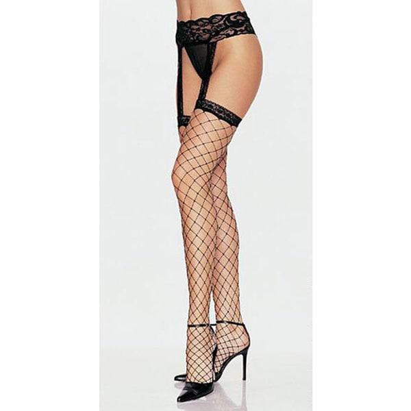 bc8751dbb Shop Leg Avenue Women s Stockings  Garter Belt  Hosiery Set - Free Shipping  On Orders Over  45 - Overstock - 3874713