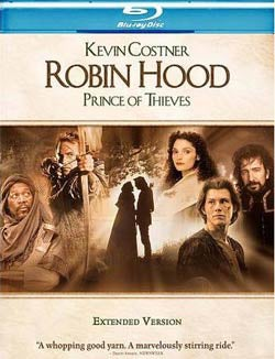 Robin Hood: Prince of Thieves Extended Cut (Blu-ray Disc)