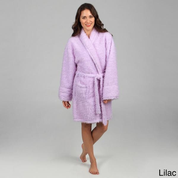 Aegean Apparel Women's Furry Robe
