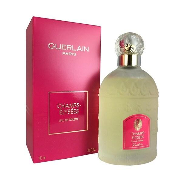 Spray Eau Toilette Elysees Guerlain 4 Champs 3 Ounce Women's De Y6b7yfvIgm