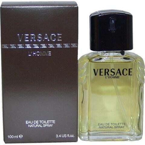 Gianni Versace Lhomme 3.3-ounce Men's Eau de Toilette Spray