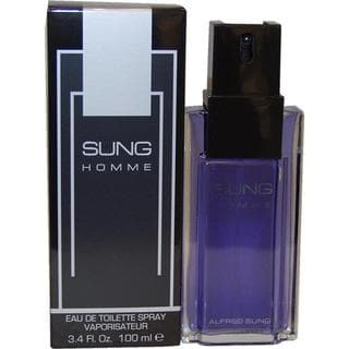 Sung by Alfred Sung Men's 3.4-ounce Eau de Toilette Spray